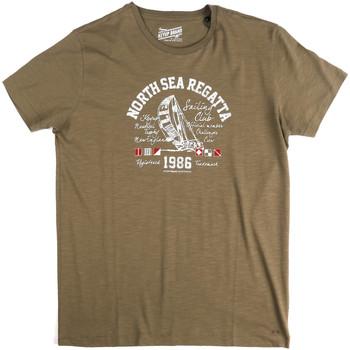 Kleidung Herren T-Shirts Key Up 2G78S 0001 Grün