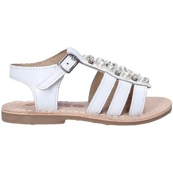 Schuhe Mädchen Sandalen / Sandaletten Asso 65954 Weiß
