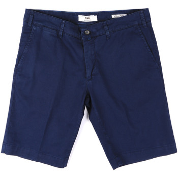 Kleidung Herren Shorts / Bermudas Sei3sei PZV132 8137 Blau