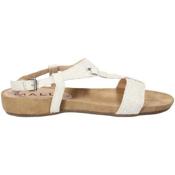 Schuhe Damen Sandalen / Sandaletten Mally 4681 Weiß
