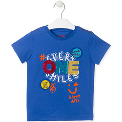 Kleidung Kinder T-Shirts Losan 015-1032AL Blau
