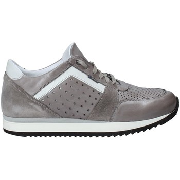 Schuhe Herren Sneaker Low Exton 558 Grau