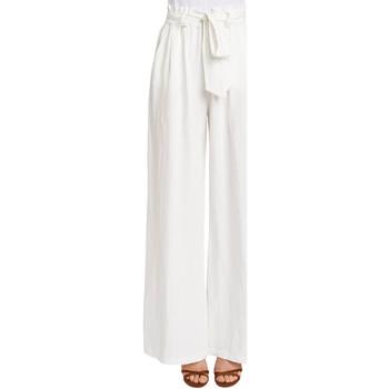 Kleidung Damen Fließende Hosen/ Haremshosen Gaudi 011FD25033 Weiß