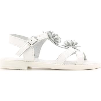 Schuhe Kinder Sandalen / Sandaletten Lulu LT080056L Weiß