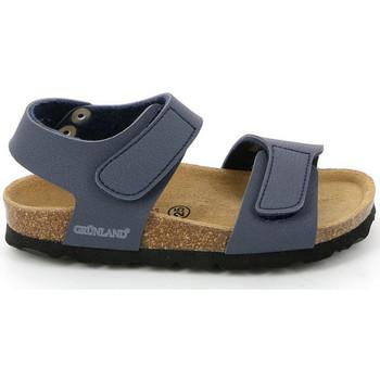 Schuhe Kinder Sandalen / Sandaletten Grunland SB0014 Blau