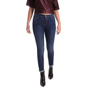 Kleidung Damen Slim Fit Jeans Gas 355652 Blau