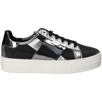 Schuhe Damen Sneaker Low Keys 5541 Grau
