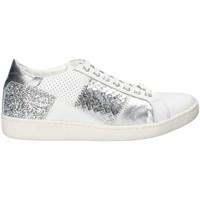 Schuhe Damen Sneaker Low Keys 5531 Weiß