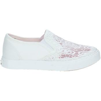 Schuhe Kinder Slip on Miss Sixty S19-SMS321 Weiß