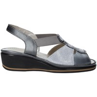 Schuhe Damen Sandalen / Sandaletten Grunland SA1412 Grau