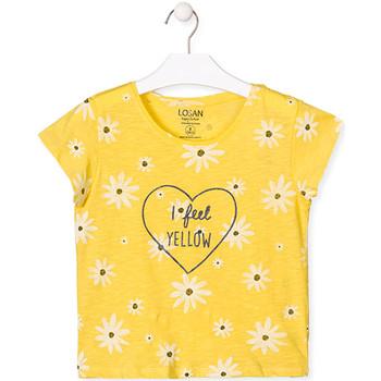 Kleidung Mädchen T-Shirts Losan 014-1013AL Gelb