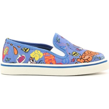 Schuhe Kinder Slip on Chicco 01055478 Blau