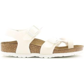 Schuhe Mädchen Sandalen / Sandaletten Birkenstock 371593 Weiß