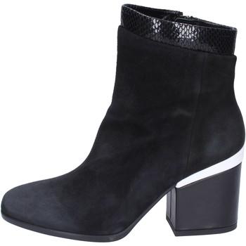 Schuhe Damen Low Boots Hogan BK687 Schwarz