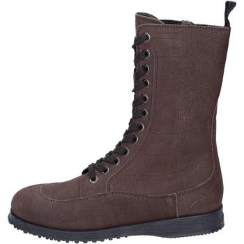 Schuhe Damen Low Boots Hogan BK691 Braun