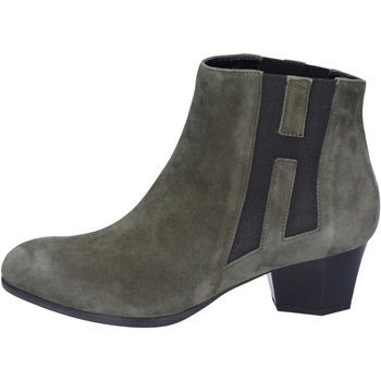 Schuhe Damen Low Boots Hogan BK698 Grün