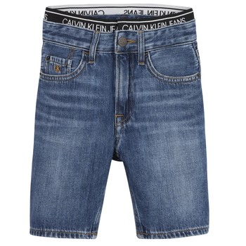 Kleidung Jungen Shorts / Bermudas Calvin Klein Jeans AUTHENTIC LIGHT WEIGHT Blau