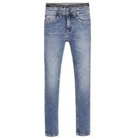 Kleidung Jungen Röhrenjeans Calvin Klein Jeans SKINNY VINTAGE LIGHT BLUE Blau