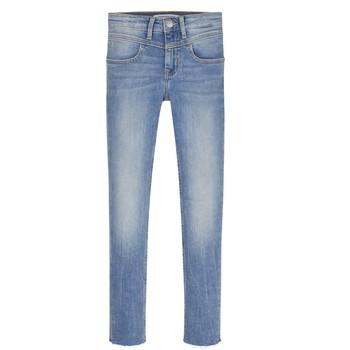 Kleidung Mädchen Röhrenjeans Calvin Klein Jeans SOLILA Blau