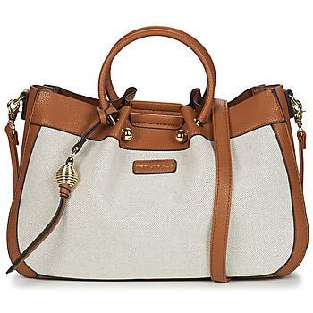 Taschen Damen Handtasche Ted Lapidus GRETEL II Beige / Braun