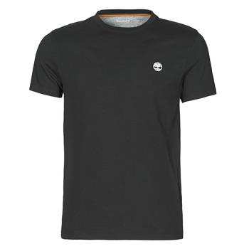 Kleidung Herren T-Shirts Timberland SS DUNSTAN RIVER POCKET TEE SLIM Schwarz