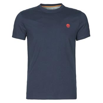 Kleidung Herren T-Shirts Timberland SS DUNSTAN RIVER POCKET TEE SLIM Marine