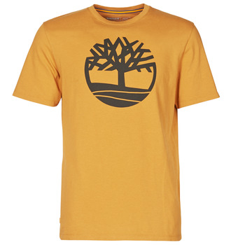 Kleidung Herren T-Shirts Timberland SS KENNEBEC RIVER BRAND TREE TEE Camel