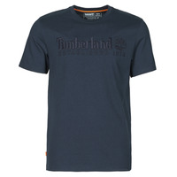 Kleidung Herren T-Shirts Timberland SS OUTDOOR HERITAGE LINEAR LOGO TEE REGULAR Marine