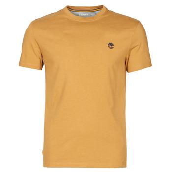Kleidung Herren T-Shirts Timberland SS DUNSTAN RIVER POCKET TEE SLIM Beige