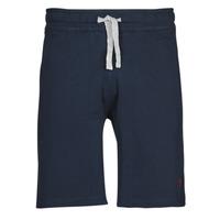 Kleidung Herren Shorts / Bermudas U.S Polo Assn. TRICOLOR SHORT FLEECE Blau