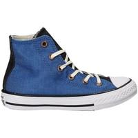 Schuhe Kinder Sneaker High Converse 659965C Blau