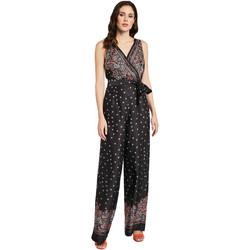 Kleidung Damen Overalls / Latzhosen Gaudi 011FD25027 Schwarz