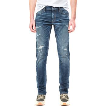 Kleidung Herren Straight Leg Jeans Antony Morato MMDT00199 FA750218 Blau