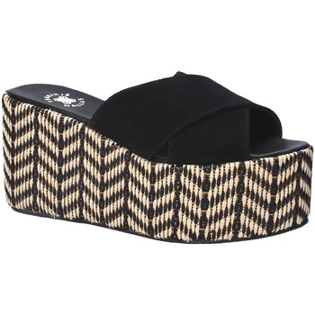Schuhe Damen Pantoffel Exé Shoes G41007057004 Schwarz