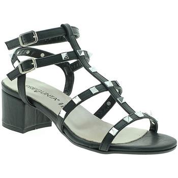 Schuhe Damen Sandalen / Sandaletten Pregunta IL68085-BB Schwarz