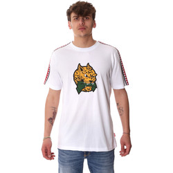 Kleidung Herren T-Shirts Sprayground 20SP032WHT Weiß