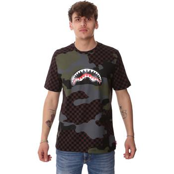 Kleidung Herren T-Shirts Sprayground SP01820BRO Braun