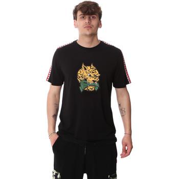 Kleidung Herren T-Shirts Sprayground 20SP032BLK Schwarz