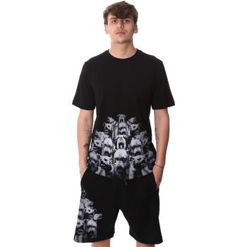 Kleidung Herren T-Shirts Sprayground 20SP012 Schwarz