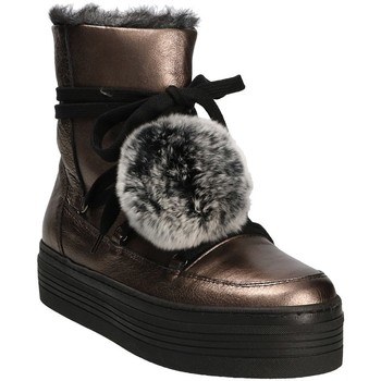 Schuhe Damen Schneestiefel Mally 5991 Grau