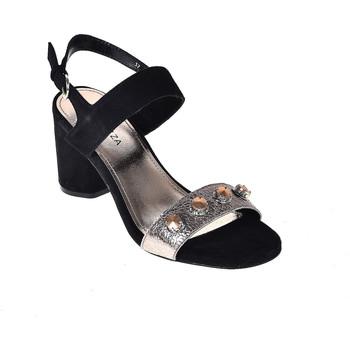 Schuhe Damen Sandalen / Sandaletten Apepazza PRS04 Schwarz