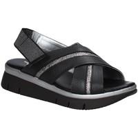 Schuhe Damen Sandalen / Sandaletten The Flexx D2016_22 Schwarz