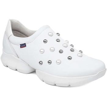 Schuhe Damen Slip on CallagHan 18701 Weiß