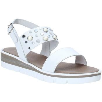 Schuhe Damen Sandalen / Sandaletten Jeiday 3867 Weiß