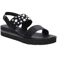 Schuhe Damen Sandalen / Sandaletten Jeiday 3867 Schwarz