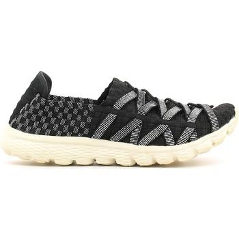 Schuhe Damen Slip on Rock Spring 870008 Schwarz