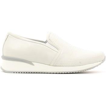Schuhe Damen Slip on Keys 5217 Weiß