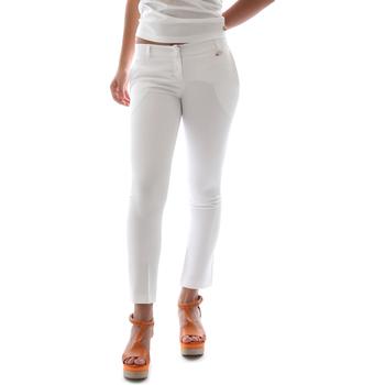 Kleidung Damen Chinohosen Animagemella 16PE003 Weiß