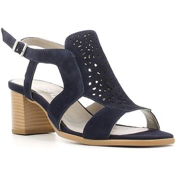 Schuhe Damen Sandalen / Sandaletten Keys 5414 Blau