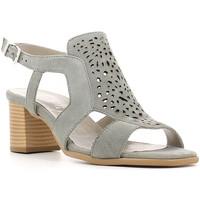Schuhe Damen Sandalen / Sandaletten Keys 5414 Grau